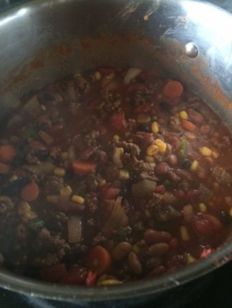 Gina's Chili Recipe