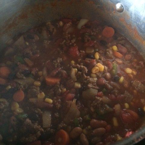 Gina's Chili Recipe